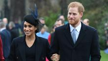 The Duchess of Sussex and the Duke of Sussex gave Charles 20 minutes' notice of the statement (Joe Giddens/PA)