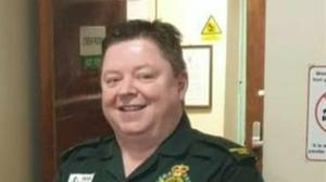 Gerallt Davies had worked for the Welsh Ambulance Service since 1994 (Welsh Ambulance Service/PA)