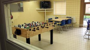 Yarl's Wood detention centre for asylum seekers