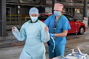 Personal protective equipment is vital during the outbreak (Justin Kernoghan/PA)