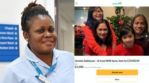 Afua Fofie and Jennie Sablayan were both based in the capital (Family handout/Go Fund Me/PA)