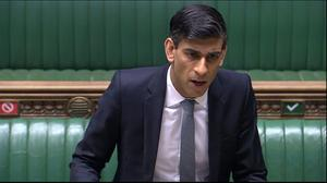Rishi Sunak said more than seven million people were furloughed(House of Commons/PA)