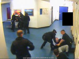 CCTV of the aftermath of the attack on Mr Trundle (Met Police/PA)