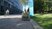 Covid-19 signage at Manchester Metropolitan University's Birley campus (Peter Byrne/PA)