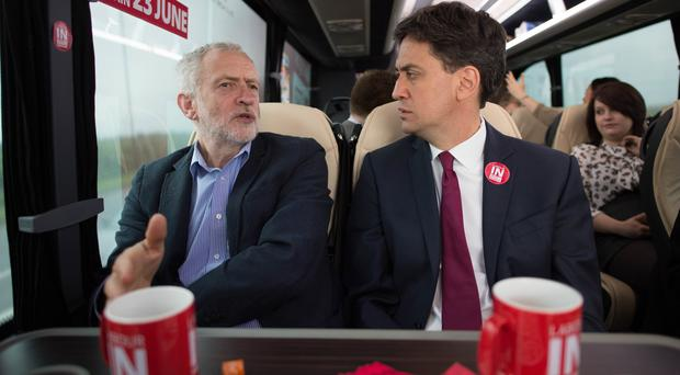 Former Labour leader Ed Miliband (right) will be one of those to lead a review into his successor Jeremy Corbyn's election defeat (Stefan Rousseau/PA)