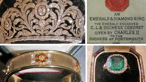 Some of the heirlooms stolen in a raid at Goodwood, one of Britain's most treasured stately homes.