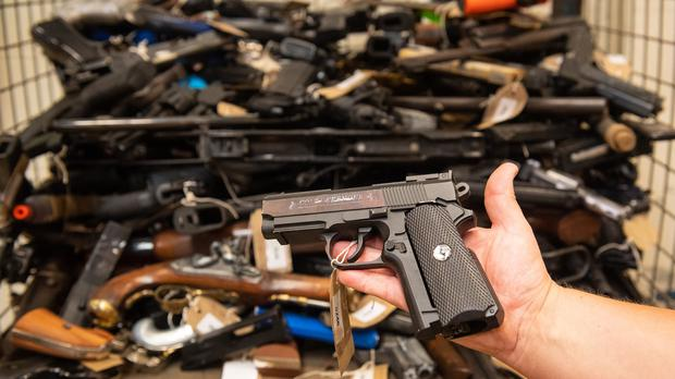 Gun crime is on the rise as gangs come out of lockdown, a police and crime commissioner has warned (PA)