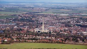 The modern city of Salisbury superseded the historic Old Sarum