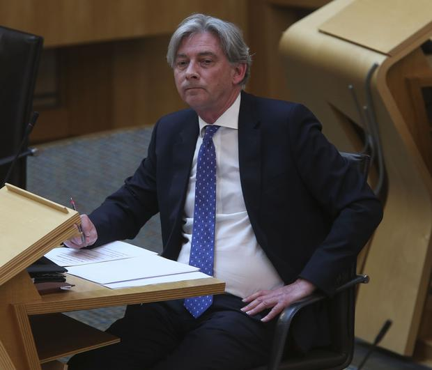 Scottish Labour leader Richard Leonard said the officer has 'serious questions to answer' (PA)