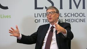 Co-founder of Microsoft Bill Gates (PA)