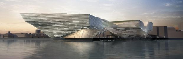 The museum vision submitted by Kengo Kuma and Associates (Design Dundee Ltd/PA)