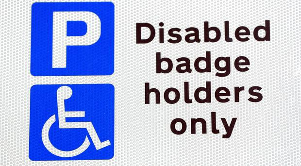 Just two-thirds of England's local authorities say they have a policy for prosecuting over misuse of Blue Badges (Jonathan Brady/PA)