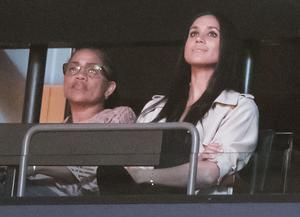 Meghan Markle's mother Doria Ragland accompanied the actress to the closing ceremony of the Invictus Games in Toronto, Canada, in 2017 (Danny Lawson/PA)