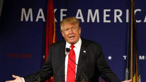 Donald Trump called for a block on Muslims entering the US