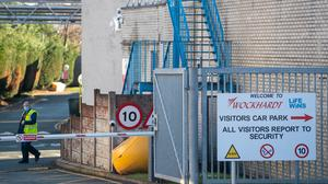 A suspect package is being investigated at the Wockhardt pharmaceutical manufacturing facility in Wrexham, North Wales (Joe Giddens/PA)