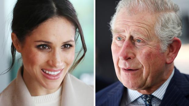 The Prince of Wales will walk Meghan Markle down the aisle in the absence of her father Thomas Markle (PA)