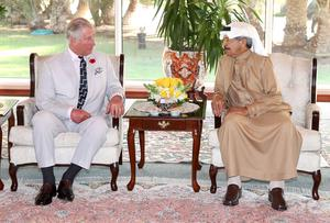 The Prince of Wales was meeting Prime Minister of Bahrain Khalifa bin Salman Al Khalifa when the relationship was announced (Chris Jackson/PA Wire)