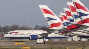 British Airways suspended all flights to and from Italy on Tuesday (Steve Parsons/PA)