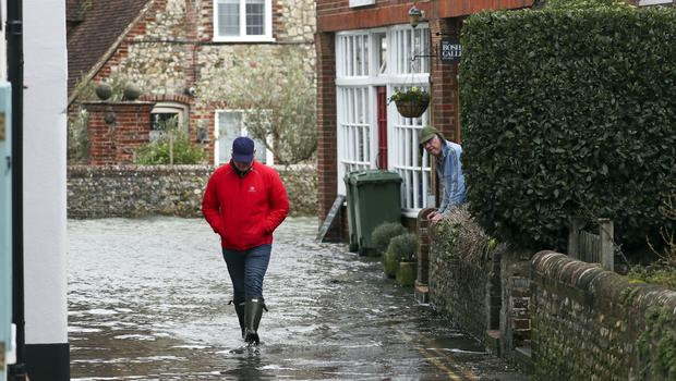 The Met Office has said Storm Dennis is set to bring more very wet and windy weather at the weekend (Steve Parsons/PA)