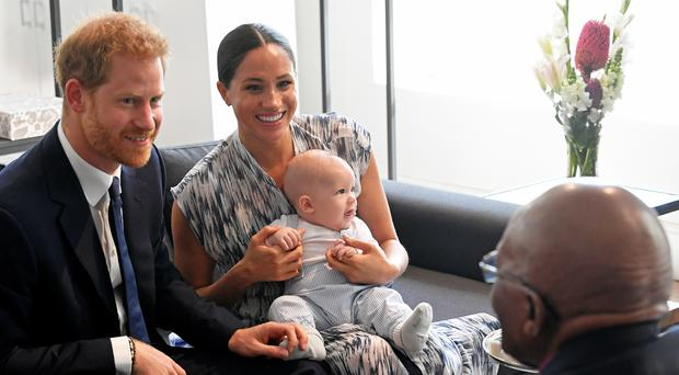 Harry, Meghan and Archie are not spending Christmas with the royals this year (Toby Melville/PA)