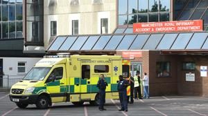 Manchester Royal Infirmary treated victims of the Manchester bomb attack (Joe Giddens/PA)