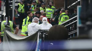 What we know so far after six men, including a police officer, were stabbed in Glasgow (Andrew Milligan/PA)