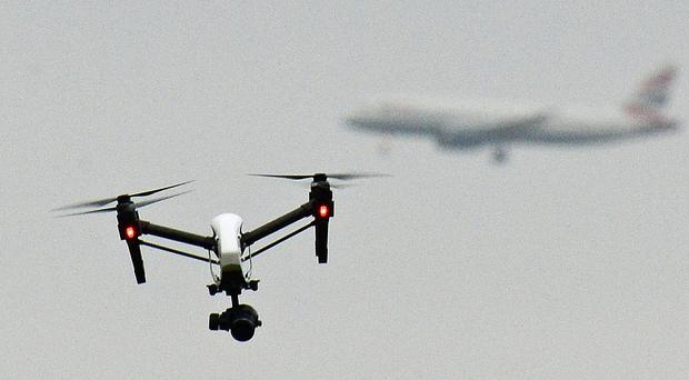 The Government is seeking to crack down on the malicious use of drones (PA)