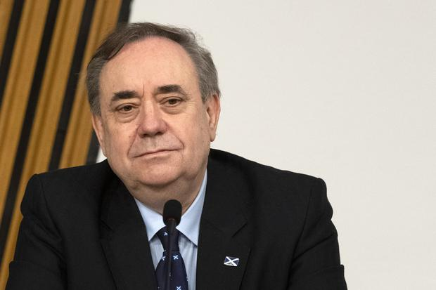 Alex Salmond insisted his party would have no issues with female voters as a result of allegations made against him (Andy Buchanan/PA)