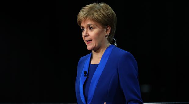 First Minister Nicola Sturgeon hailed the results (Andrew Milligan/PA)