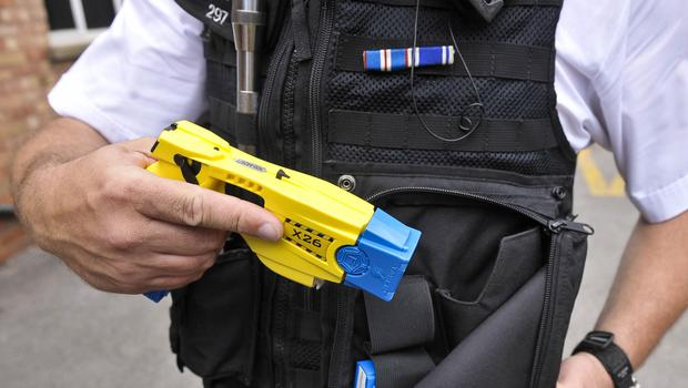 Cressida Dick said more officers carrying the stun guns would protect them from attacks (Ben Birchall/PA)
