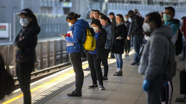 Public transport users in London will be hit by fare increases and restrictions on free travel due to the Government's £1.6 billion bail out of Transport for London (Victoria Jones/PA)