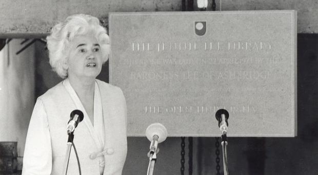 Founder of the Open University, Jennie Lee (The Open University)