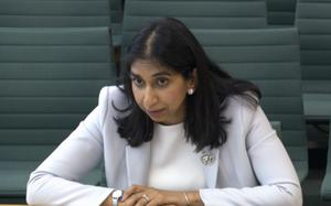 Attorney General Suella Braverman denied Covid-19 regulations were too complex (House of Commons/PA)