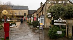 Bourton-on-the-Water, the Gloucestershire village is seeing fewer visitors due to fears over the spread of Coronavirus (Jacob King/PA)