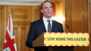 Foreign Secretary Dominic Raab (Pippa Fowles/Crown Copyright/10 Downing Street/PA)
