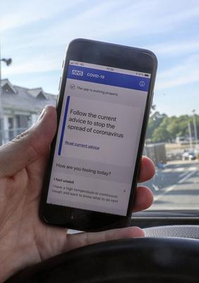 A new NHSX app for contact tracing was announced by Mr Hancock in April but later ditched (Steve Parsons/PA)