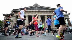 The 2020 Edinburgh Marathon has been postponed because of the coronavirus outbreak (Jane Barlow/PA)
