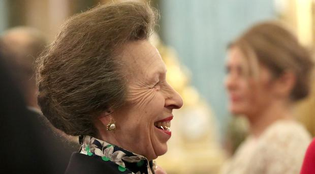 The Princess Royal has talked about risks in sport (Yui Mok/PA)