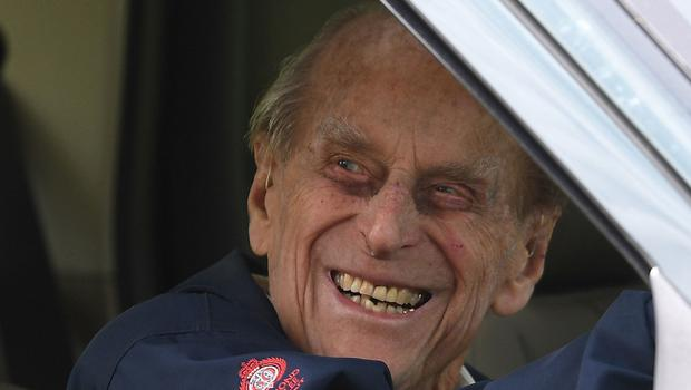 Philip during the Royal Windsor Horse Show last week (Steve Parsons/PA)