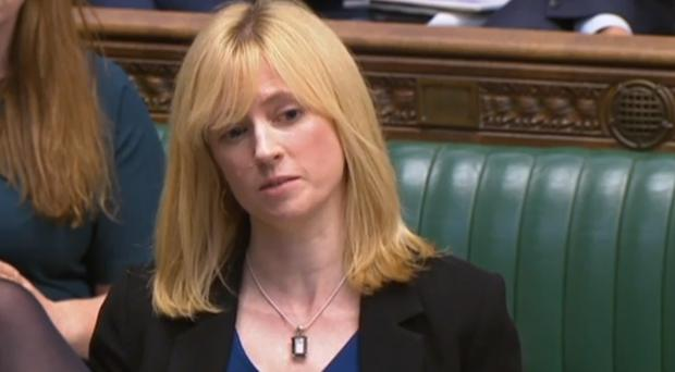 Labour MP for Canterbury Rosie Duffield House of Commons/PA)