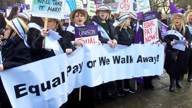 Only two out of five of 1,000 women surveyed said they knew they were being paid the same as male colleagues (PA)