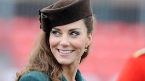 The Duchess of Cambridge at last year's presentation
