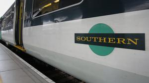 Southern Railway had the most over-crowded service (Philip Toscano/PA)