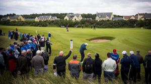 Golf spectators were found to average about 11,500 steps per day (PA)