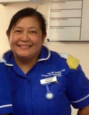 Leilani Dayrit, a nurse at St Cross Hospital in Rugby (Handout/PA)