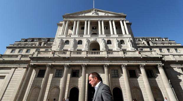 The Bank of England is set to keep interest rates on hold at 0.75% (PA)