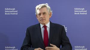 Former prime minister Gordon Brown has called for international co-operation instead of 'populist nationalism' amid the coronavirus crisis (Jane Barlow/PA)