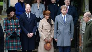 The Duke and Duchess of Cambridge, Meghan Markle and Prince Harry are to hold their first joint engagement. (Joe Giddens/PA)