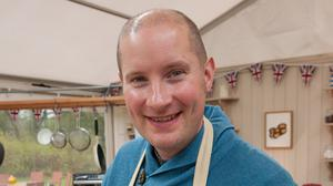 Richard Burr is the favourite to win The Great British Bake Off