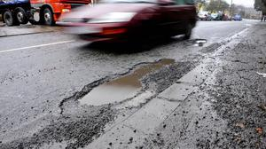 Heavier vehicles exert more pressure onto road surfaces, causing them to crumble more quickly and form potholes, the LGA said